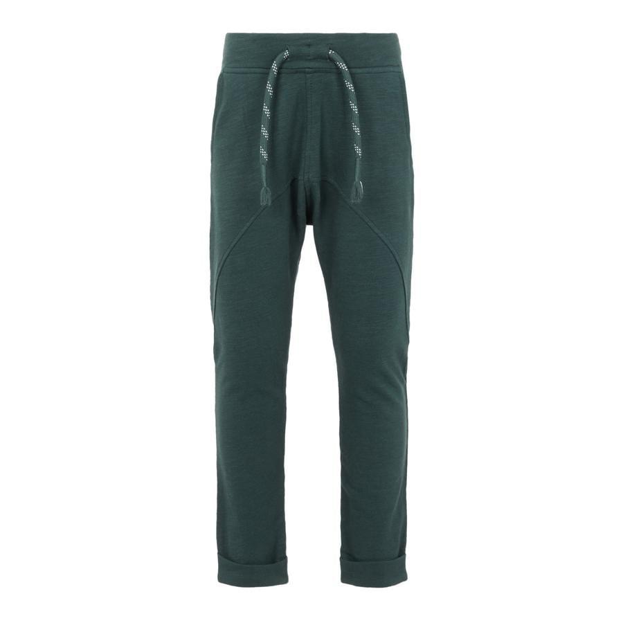 name it Chłopcy Spodnie z dresami Najan szczyty Najan green