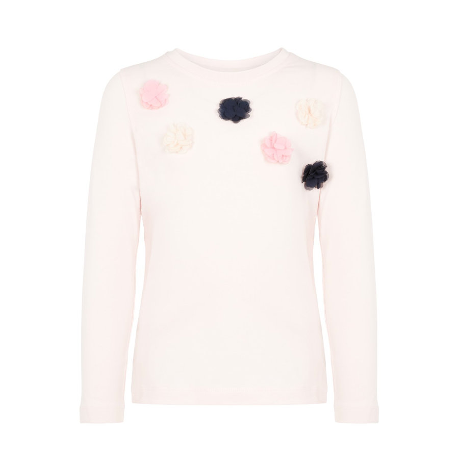 name it Girls Langarmshirt Nanna Barely Pink