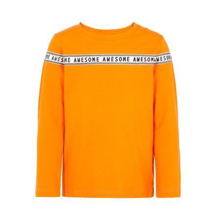 name it Camisa de manga larga para niños sólo mandarina orange