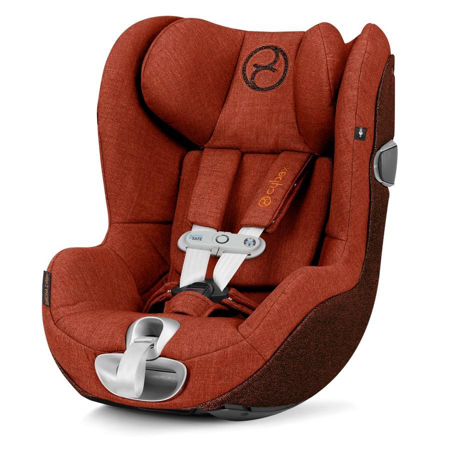 cybex PLATINUM Kindersitz Sirona Z i-Size Plus inklusive Sensorsafe Autumn Gold