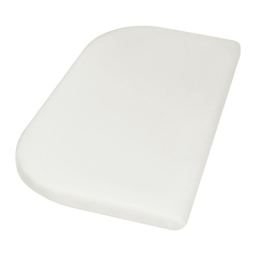 Playshoes Drap housse enfant Jersey blanc 81x42 cm