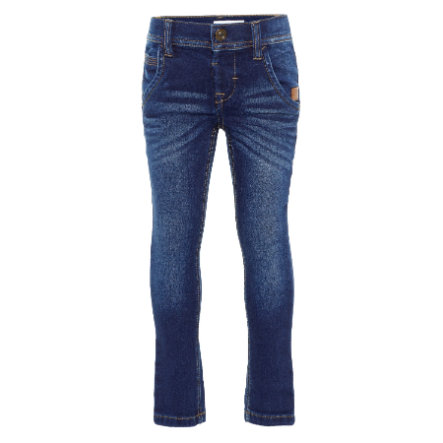 name it Boys Jeans NMMROBIN dark blue denim