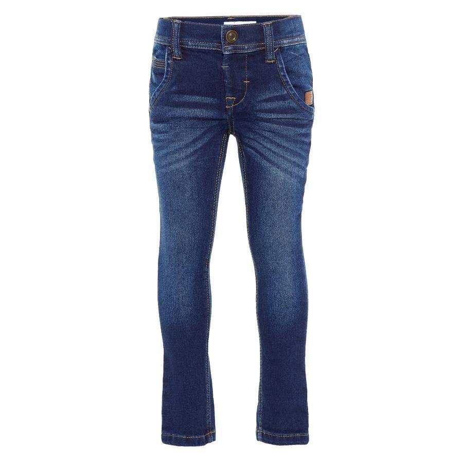 name it Chłopcy Jeans robin ciemnoniebieski jeans robin ciemnoniebieski denim