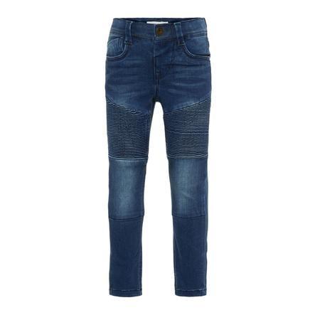 name it Jeans Theo medium blue denim