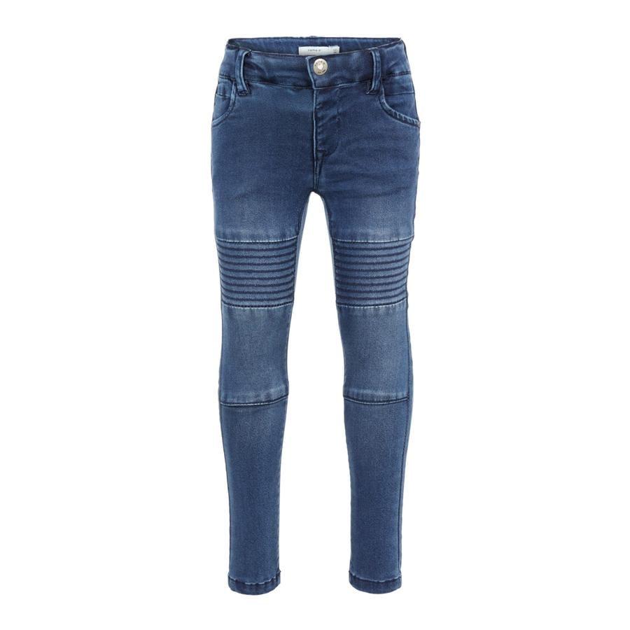 name it Girls Jeans Polly medium blue denim