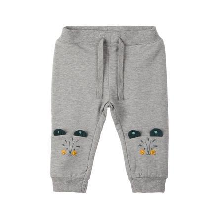 name it Pantalones de chándal Lehim gris mélange