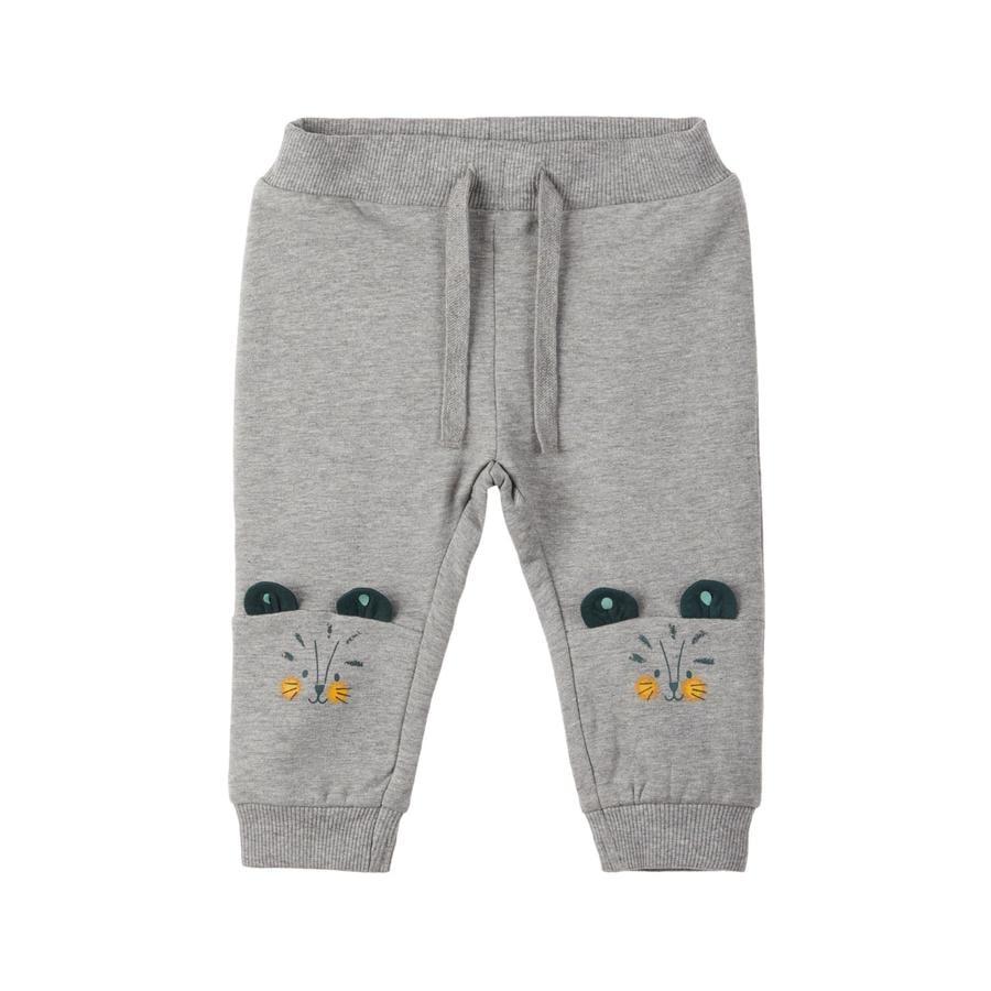 name it Pantalon de survêtement garçon Lehim gris mélangé