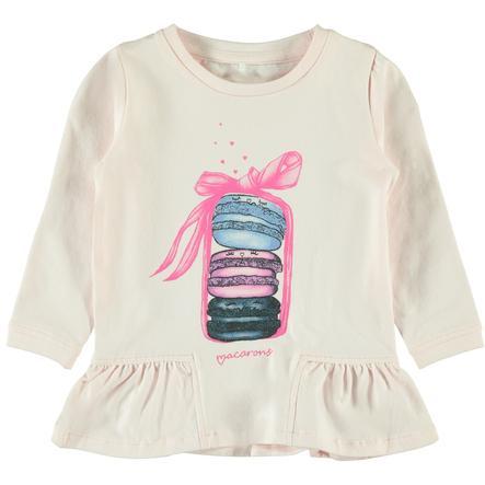 name it Girls Shirt met lange mouwen Nele barely roze