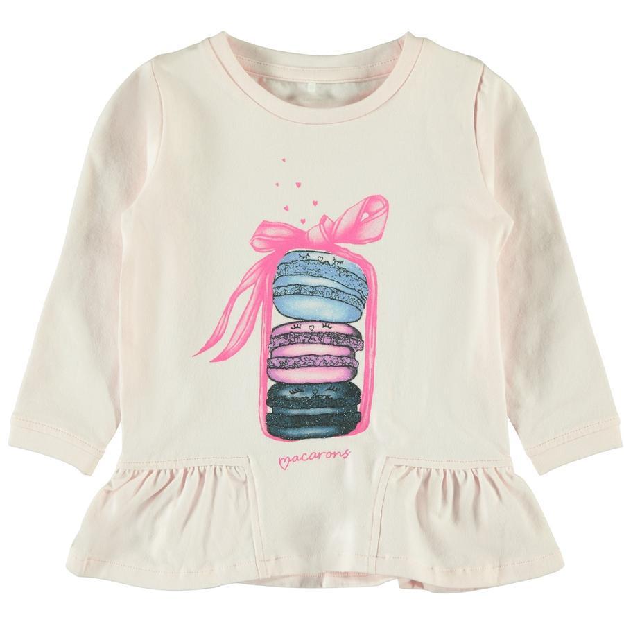 name it Girls Camisa manga larga Nele barely rosa
