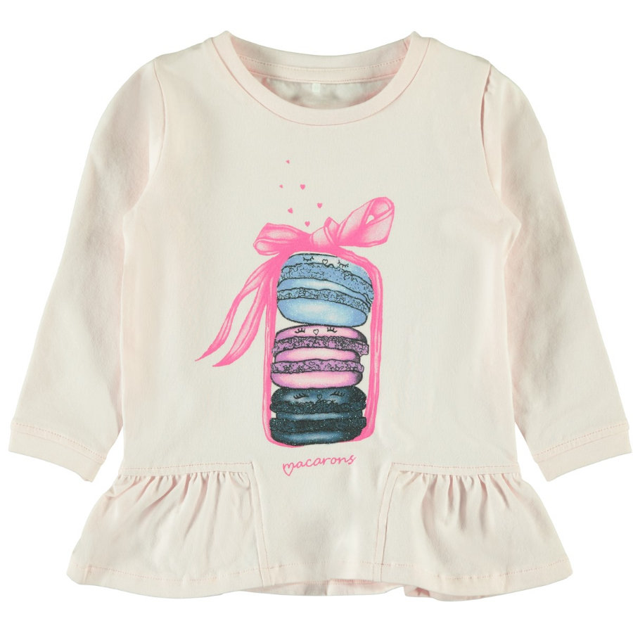name it Girls Langarmshirt Nele barely pink