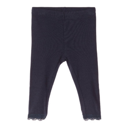name it Girls Leggings Northa Dark Sapphire