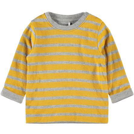 name it Jongens shirt met lange mouwen Norh Golden Orange