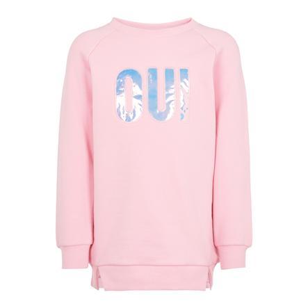 name it Girls Mikina Nona Prism Pink