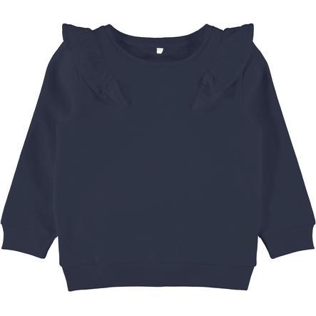 name it Girls Sweatshirt Vanda Saphir Foncé Vanda