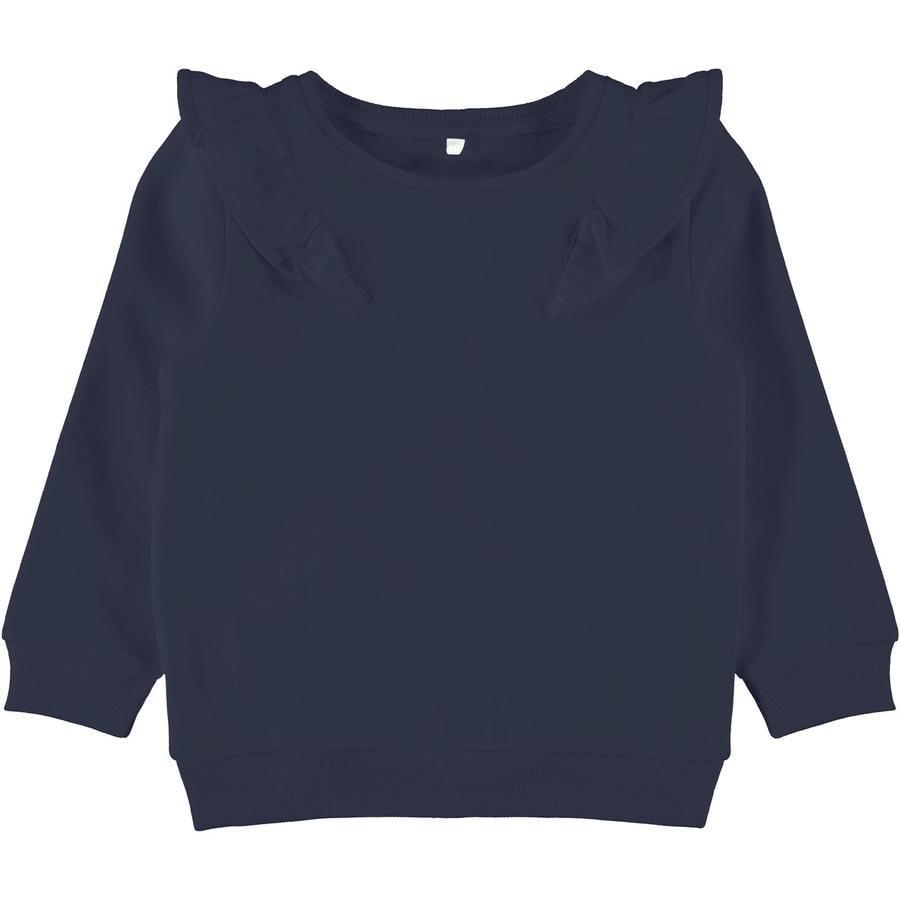 name it Girls Sweater Vanda Donkere Saffier
