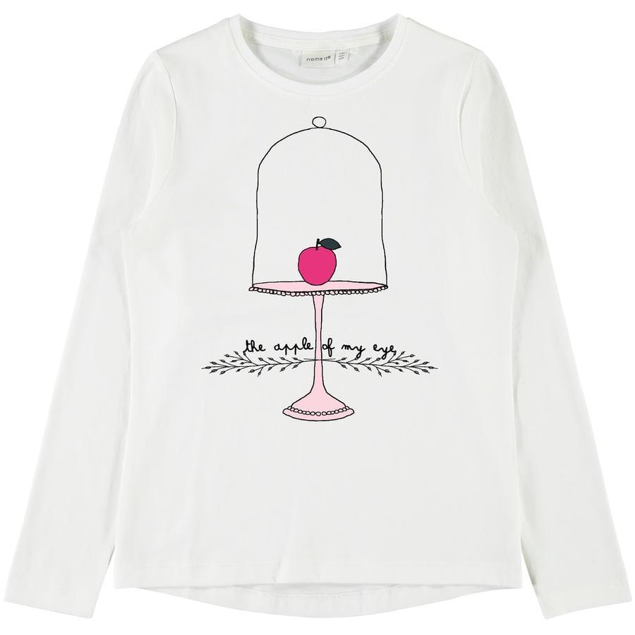 name it Girls Koszula z długim rękawem Veen Snow White