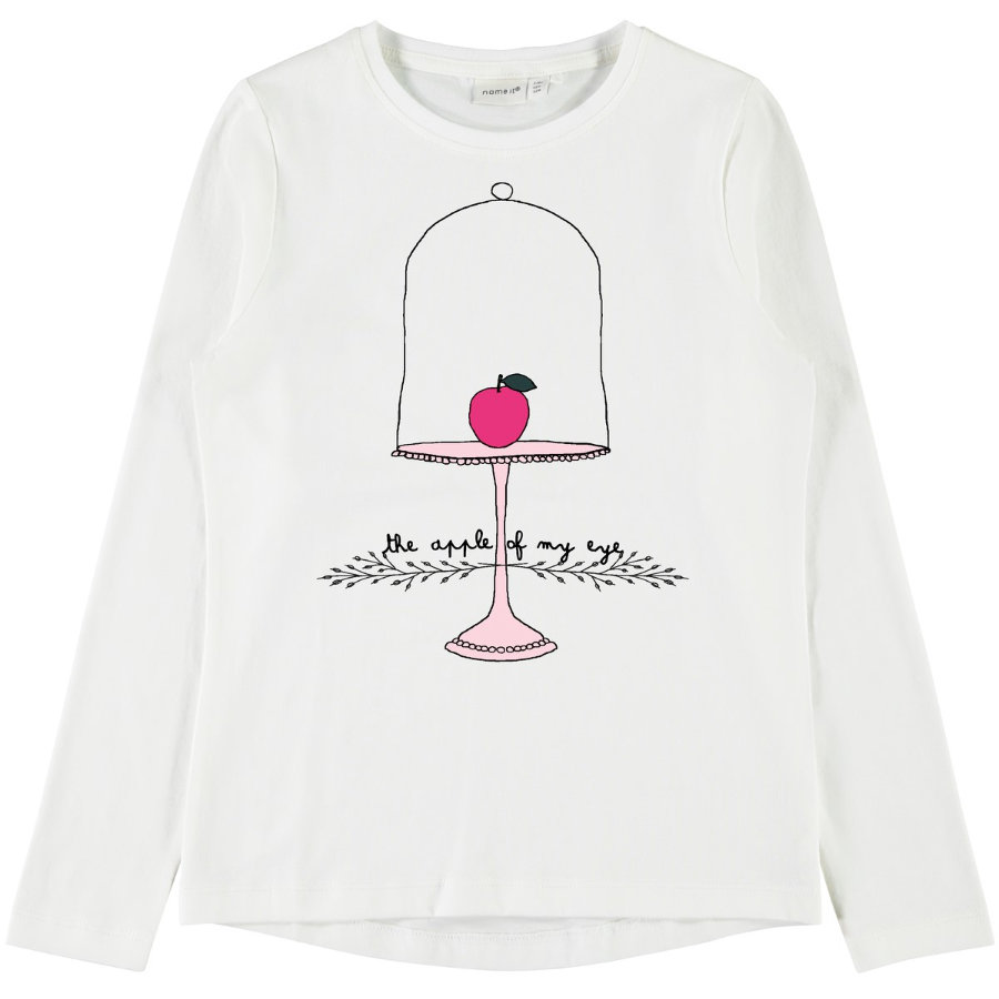 name it Girls Langarmshirt Veen Snow White