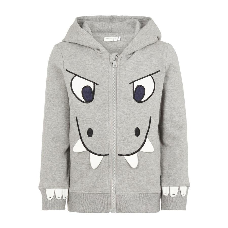 name it Boys Sweatshirt Nidino grey melange