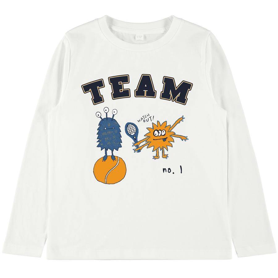 name it Camisa manga larga niño Vux snow white