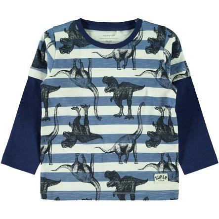 name it Chlapecké tričko s dlouhým rukávem Nickas dutch blue