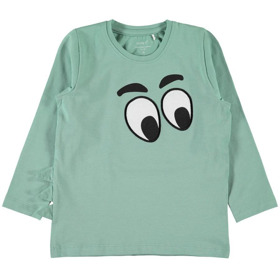 name it Chłopcy koszula z długim rękawem Nalook feldspar