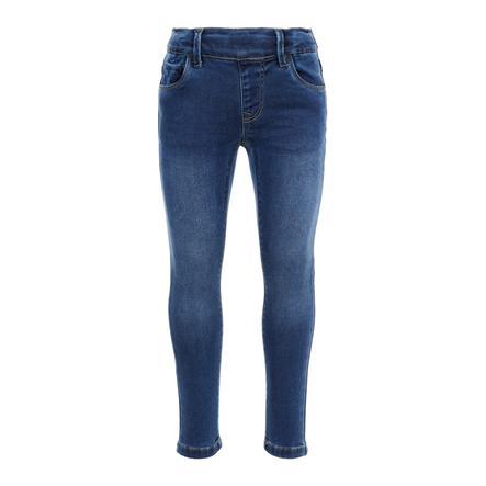 name it Girls Jeans Polly dark blue denim