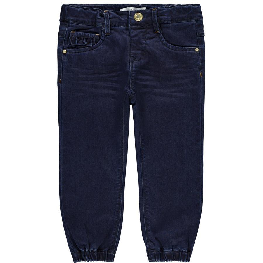 NAME IT tyttöjen Jeans NMFBIBI tummansininen farkku