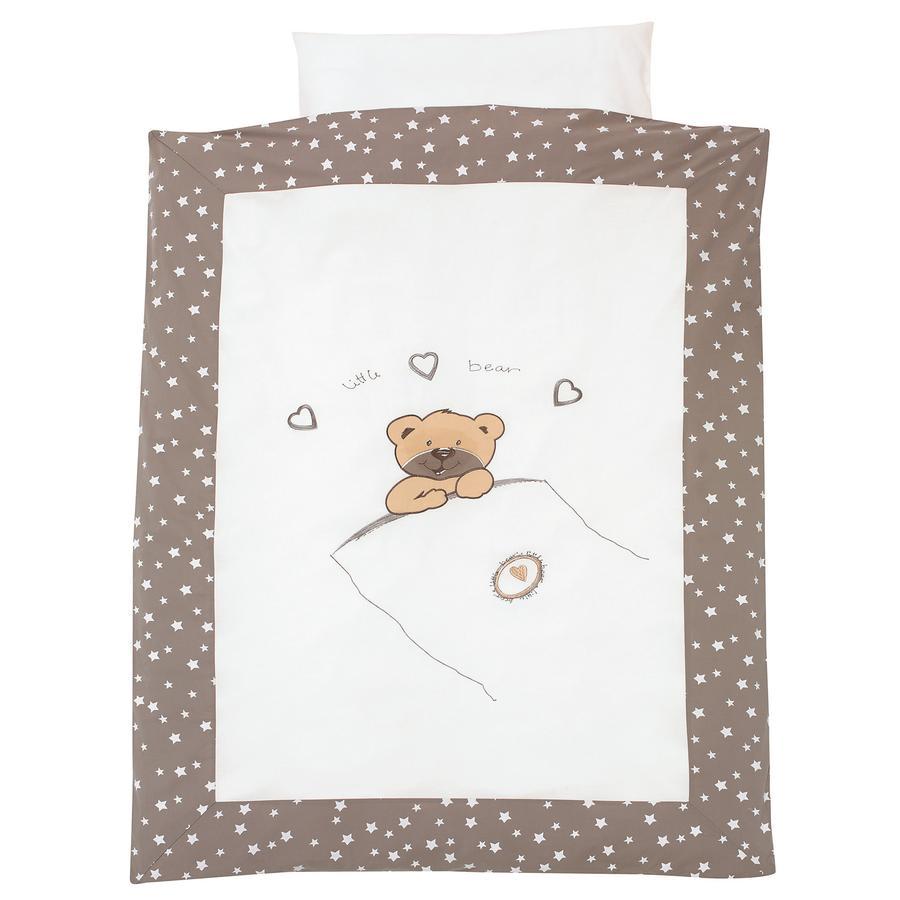 ALVI Set biancheria lettino - Little Bear beige 100x135