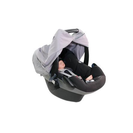 Ullenboom WIGGYBOO - Stillschutz und Abdeckung für Babyschale Grau