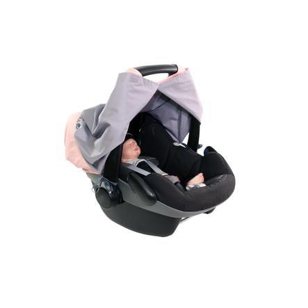 Ullenboom WIGGYBOO - Stillschutz und Abdeckung für Babyschale Rosa
