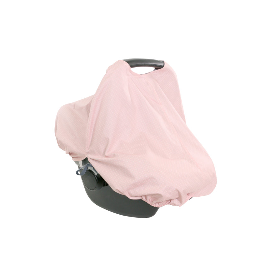 Ullenboom Châle d'allaitement housse pour cosi WIGGYBOO rose