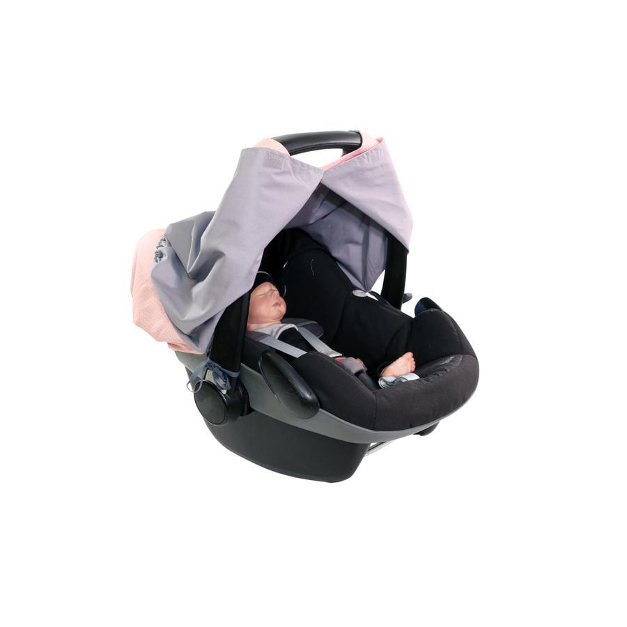 Ullenboom WIGGYBOO - Ammebeskyttelse og deksel til baby Carry Rosa