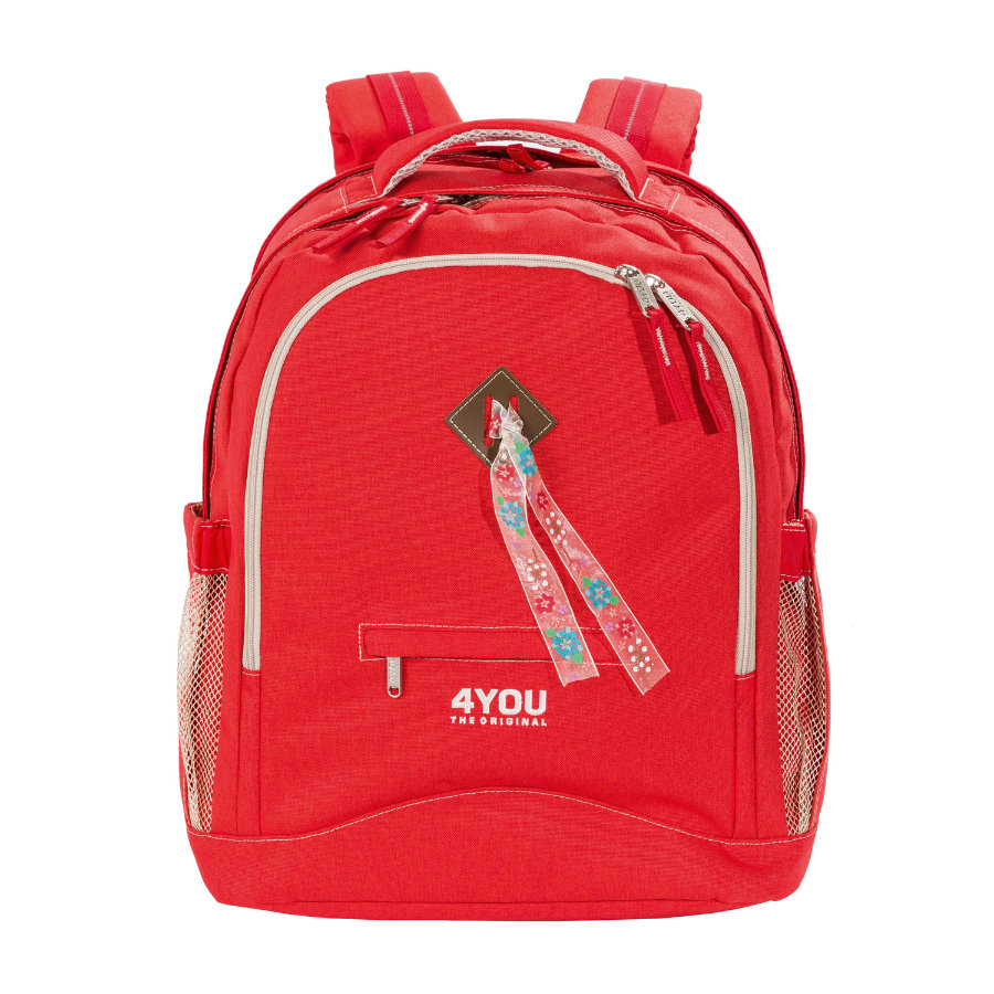 4YOU Flash Zaino Compact, 236-44 Just Red