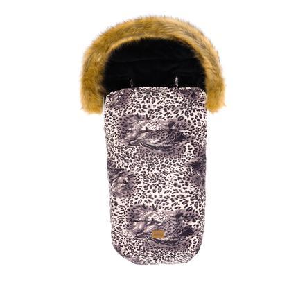 fillikid Wintervoetenzak Meru Melange Leopard