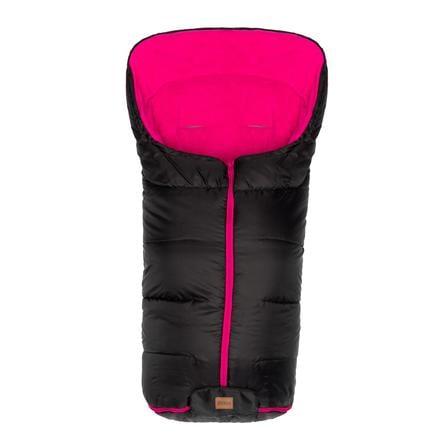 fillikid Eco stor vintervognpose svart/rosa