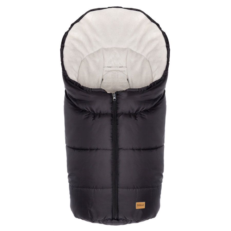 fillikid Chancelière pour poussette/cosy hiver Eco Small, noir