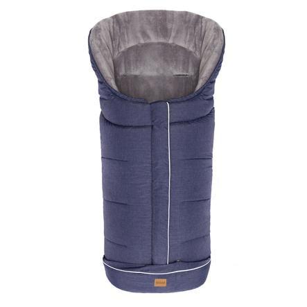 fillikid Winterfußsack K2 Soft Melange Blau