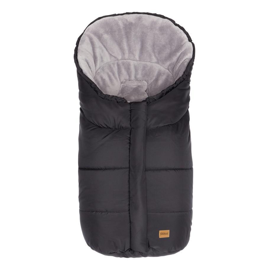 fillikid Eiger vinterpose Gr.0 - for babybilstoler Polyester-Pongee svart