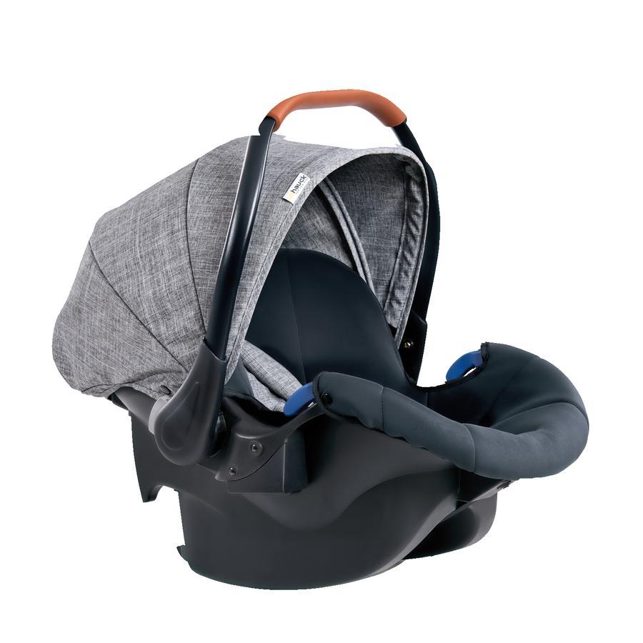 hauck Babyskydd Comfort Fix Melange Grey