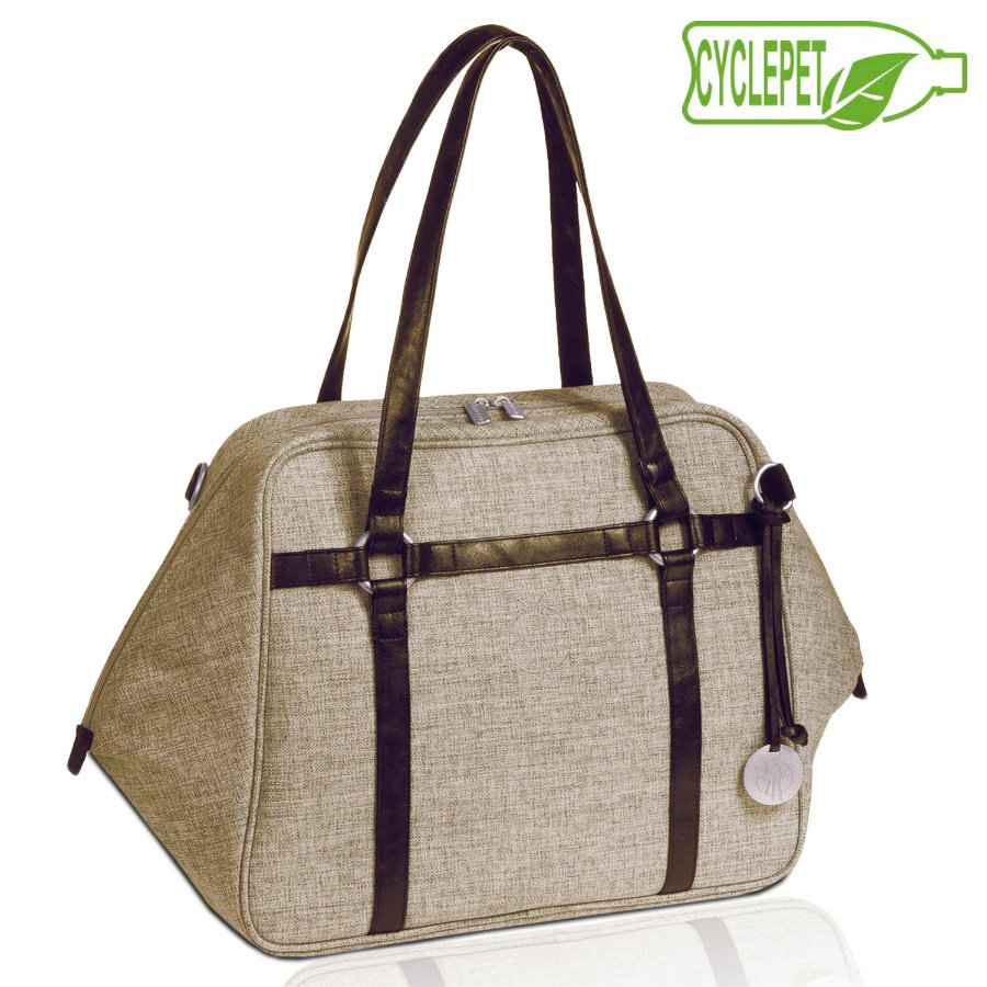 "LÄSSIG Urban Bag "" Green Label"" - Melange"