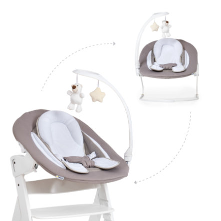hauck Babyaufsatz Alpha Bouncer 2in1 Deluxe Sand