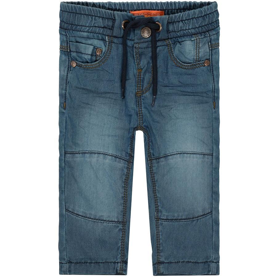 STACCATO  Thermo jeans voor jongens mid night  blauwe denim