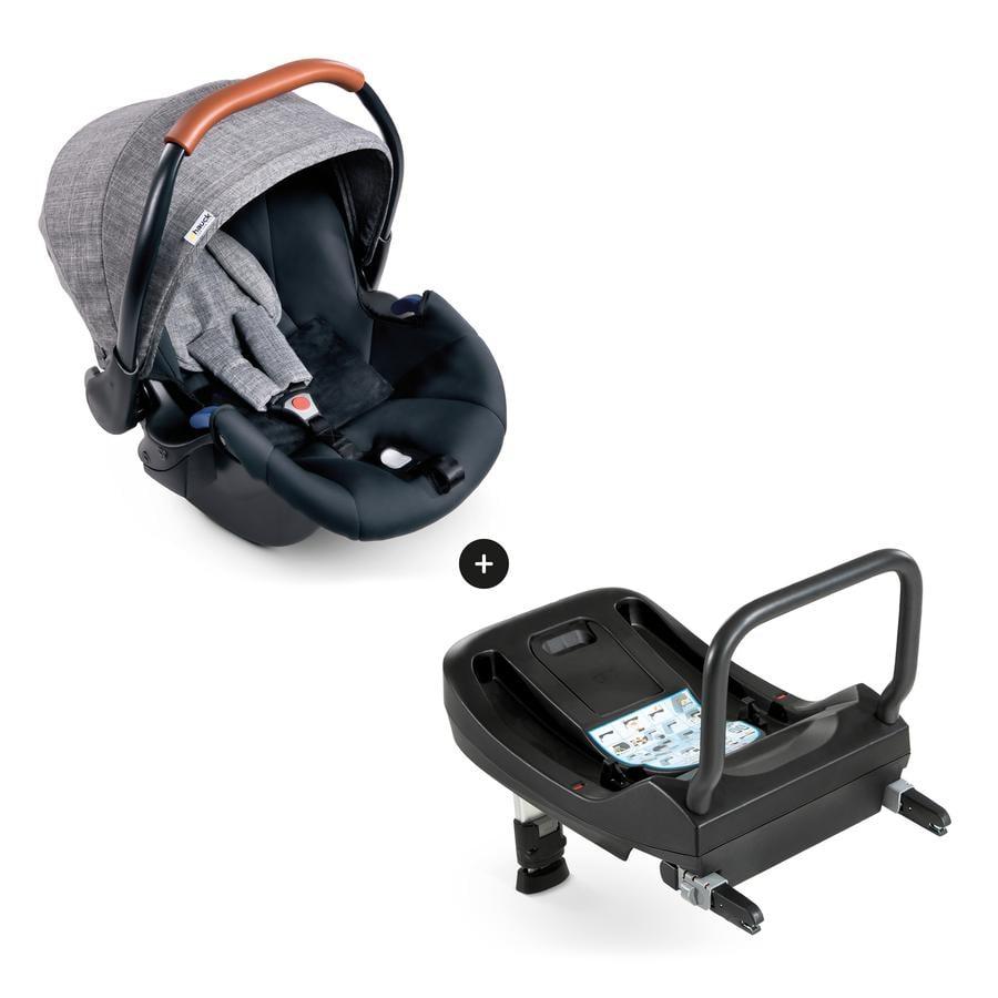 hauck Comfort Fix Set Melange Grey