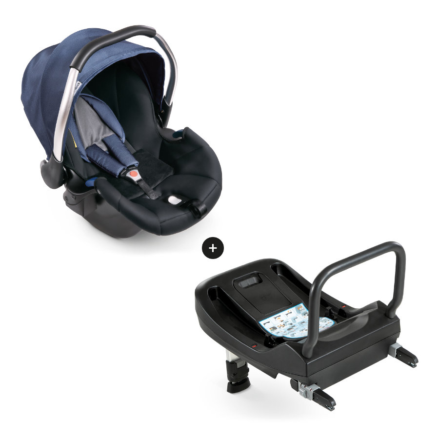 Hauck Comfort Fix Set + Isofix Base 2020 denim/grey