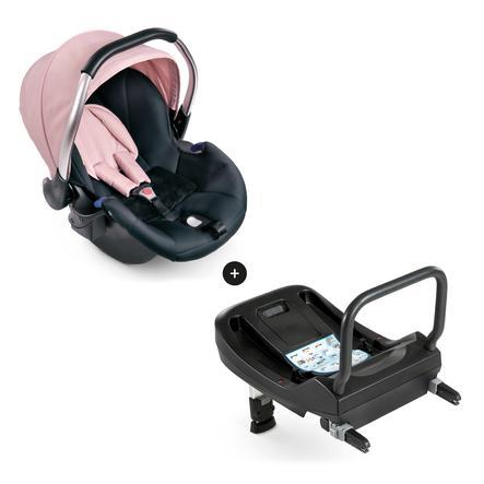 hauck Babyskydd Comfort Fix Set Pink/Grey