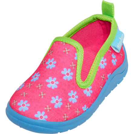 Playshoes  Tøffelblomster pink