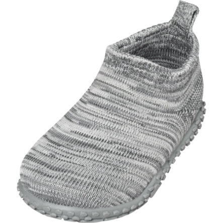 Playshoes  Pantofola in maglia grigio