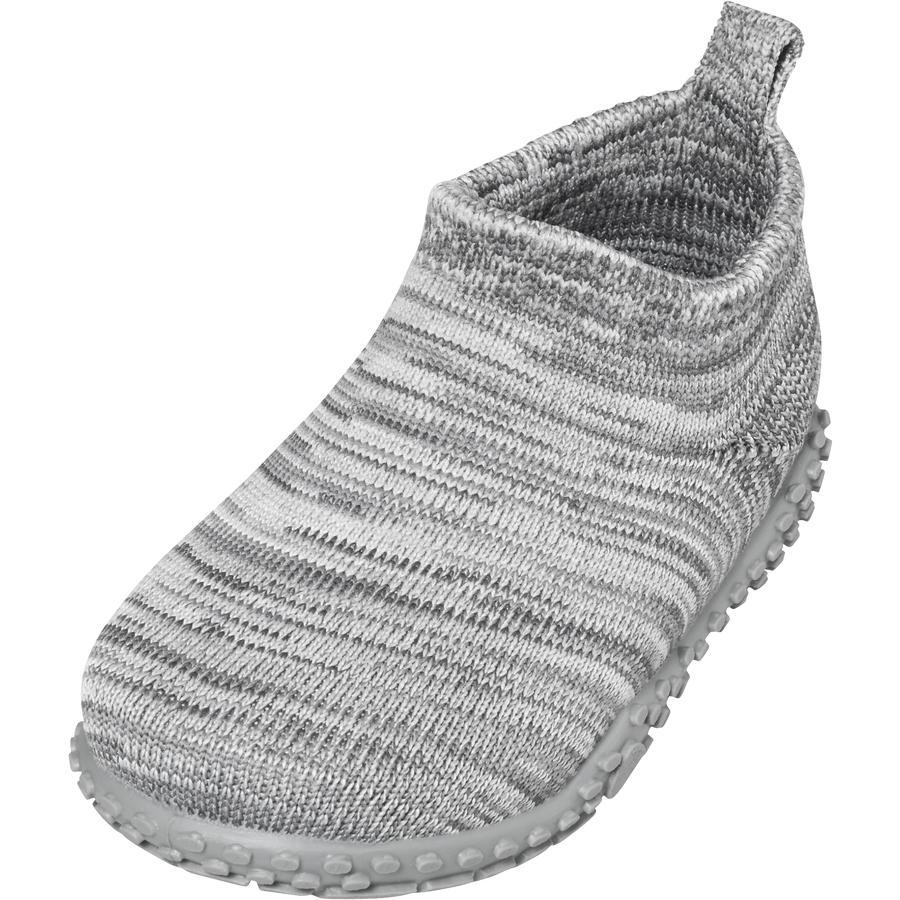 Playshoes  Chausson tricoté gris