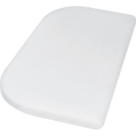 Playshoes Jersey Spannbettlaken 89x51cm weiß