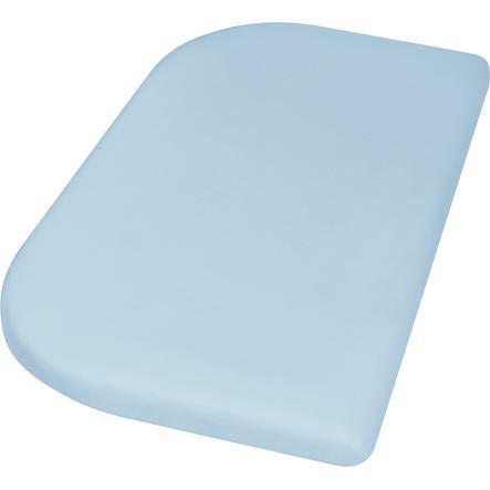 Playshoes Jersey Spannbettlaken 89x51 cm blau